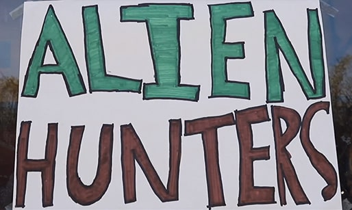 alien hunters student video